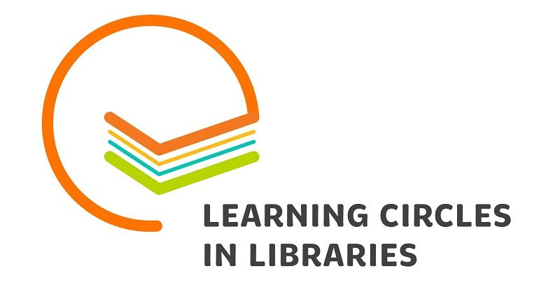 Learning circles in libraries -hankkeen logo