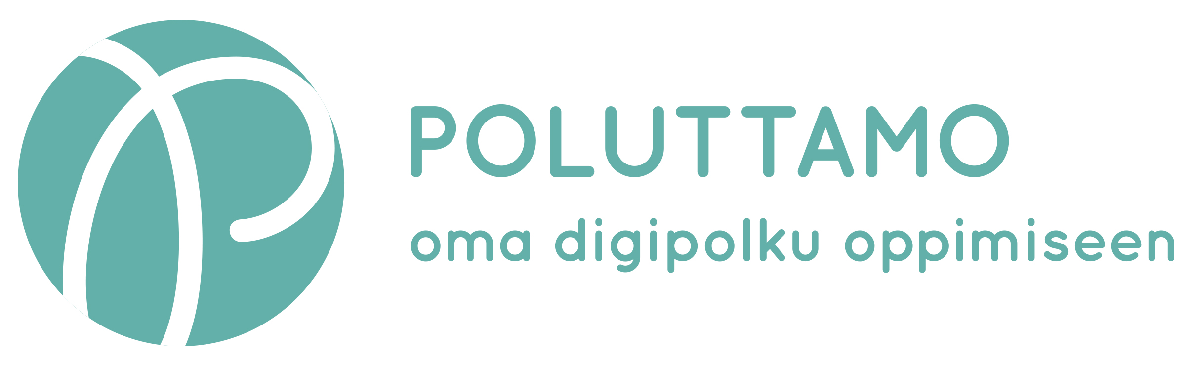 Logo: Poluttamo - oma digipolku oppimiseen