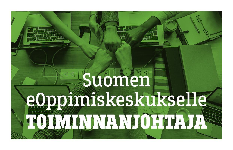 Suomen eOppimiskeskukselle toiminnanjohtaja