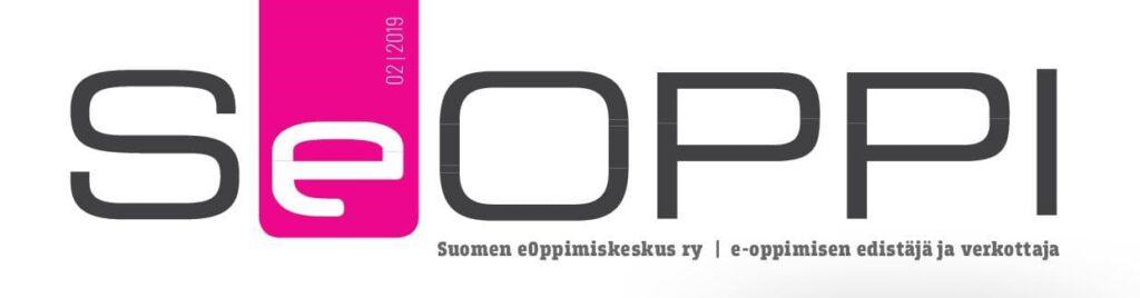 SeOppi-lehden kannen ylälaita, jossa SeOppi-teksti