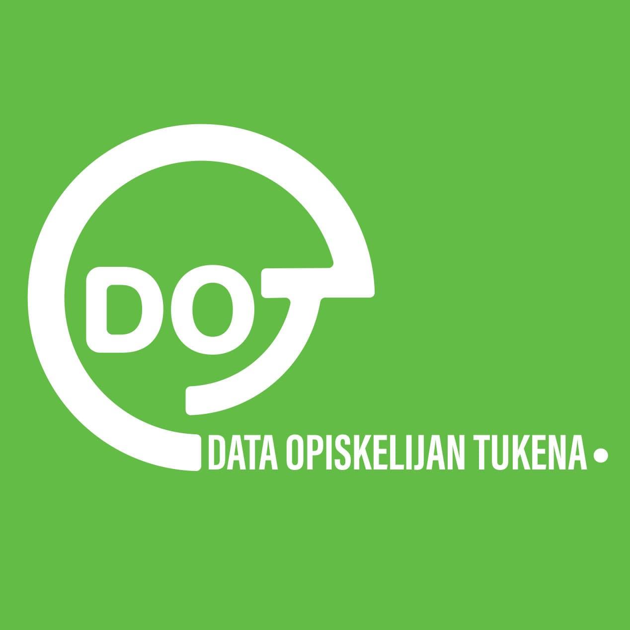 DOT - data opiskelijan tukena -hankkeen logo
