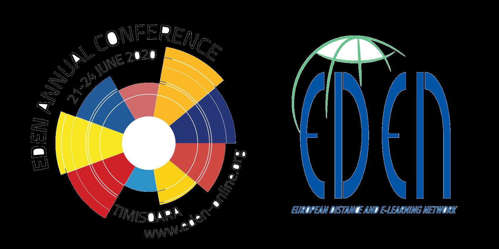 Logo: EDEN 2020 Annual Conference June 21-24, Politehnica University of Timisoara, Romania