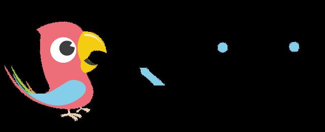Qridin logo, jossa Qridi-teksti sekä linnun kuva